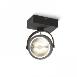 Kelly LED I vägg / takspotlight 12W LED svart