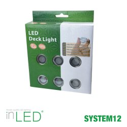 Altanbelysning 6-pack LED 0,3W | SPOTiLED.SE