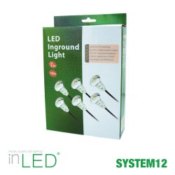 Altanbelysning 6-pack LED 0,6W | SPOTiLED.SE