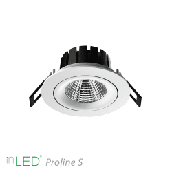 LED spotlight inLED Proline S1 - 10W vit 2700K
