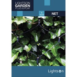 Ljusnät - Net 2x2m 6W LED - LightsOn