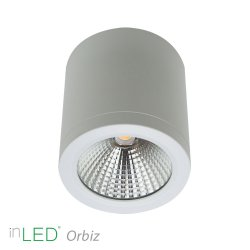 inLED Orbiz LED takspotlight 10W dimbar - Vit