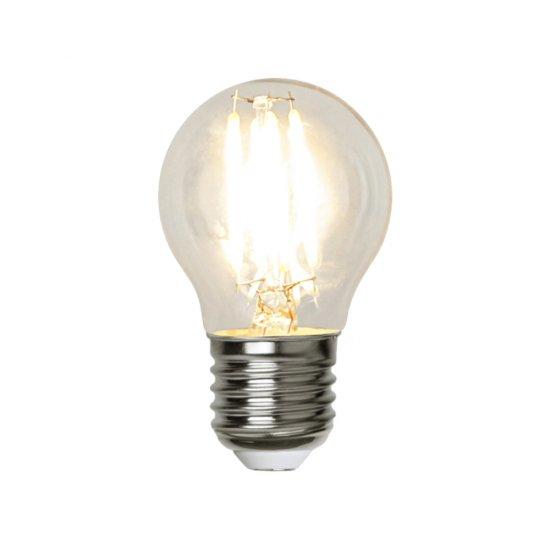 12V LED filament lampa E27 2W 250lm   SPOTiLED.SE