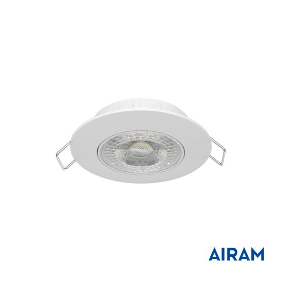 LED spotlight Airam Cosmo 5,8W 3000K vit