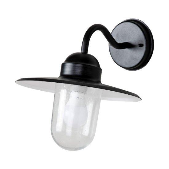 Arvika klassisk fasadlampa E27 lampa svart   SPOTiLED.SE