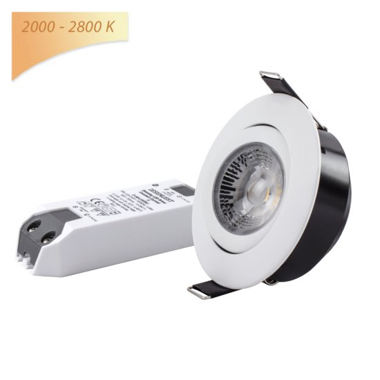Designlight DB-243MW 8,3W LED spotlight med dim-to-warm (2000K-2800K) -miljöbild2