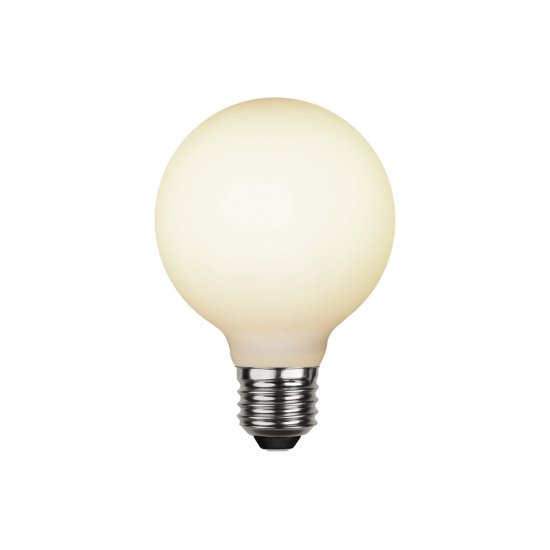 LED-lampa E27 8cm Opaque double coating 363-41-1 lysande