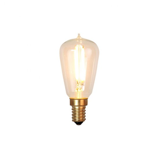1,8W Decoration LED filament lampa med E14 sockel 120lm - dimbar