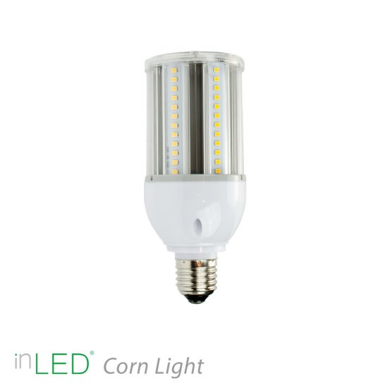 Corn Light 12W E27 LED lampa - 135 lm/W - inLED Corn Light series