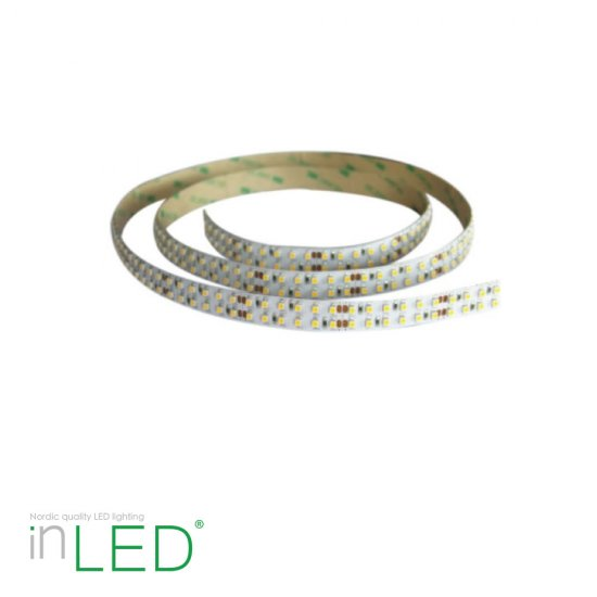 LED stripe 5m varmvit 3000K 19,2W/m IP20 - utan transformator