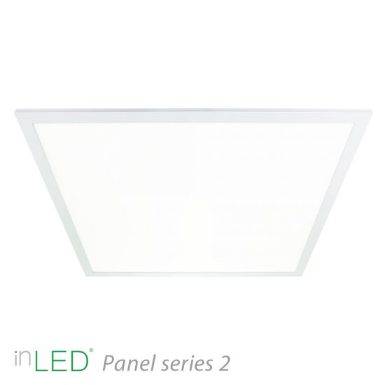 inLED LED armatur Series 2 60x60cm 35W 3000K vit ram
