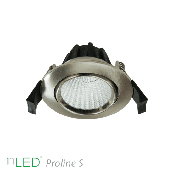 LED spotlight inLED Proline S4 - 7W - Krom