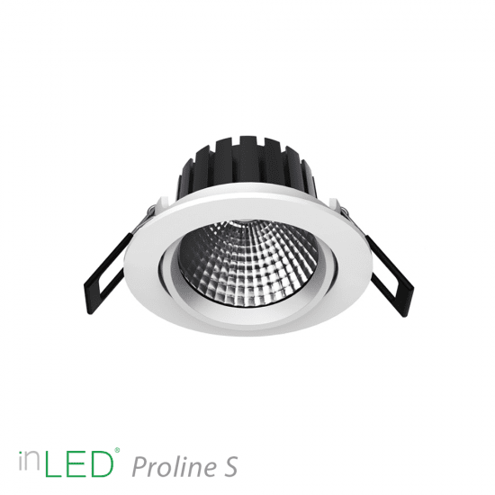 LED spotlight inLED Proline S3 - 8W vit