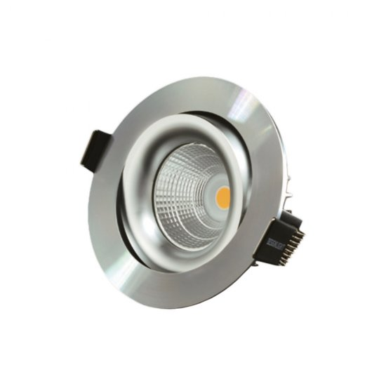 LED spotlight P-1602530A 7W 3000K - Alufinish