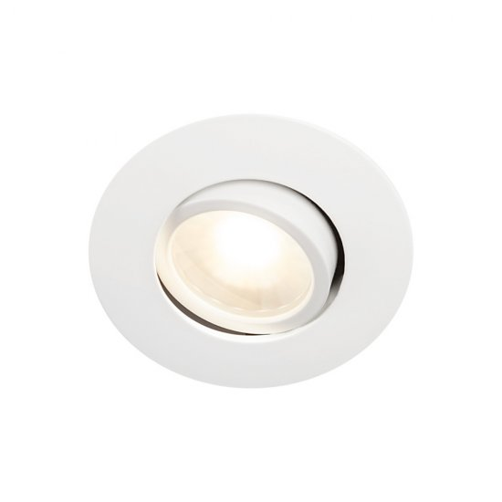 LED downlight för apparatdosa 1218 12V Vit 5,2W Hidealite
