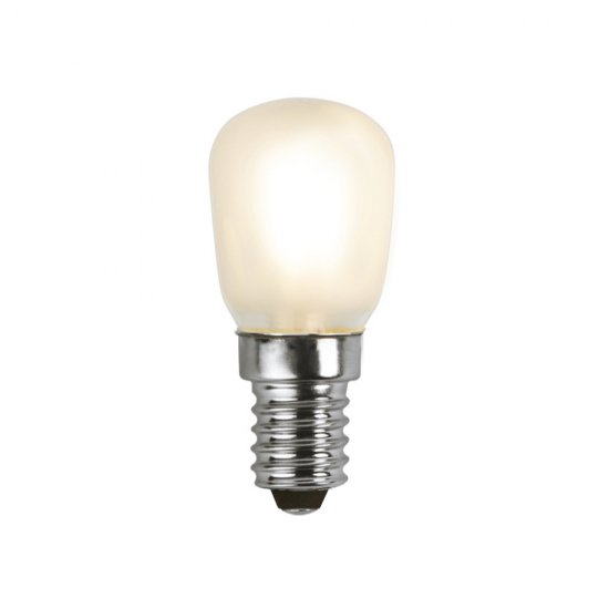LED lampa E14 ST26 1,3W Frosted