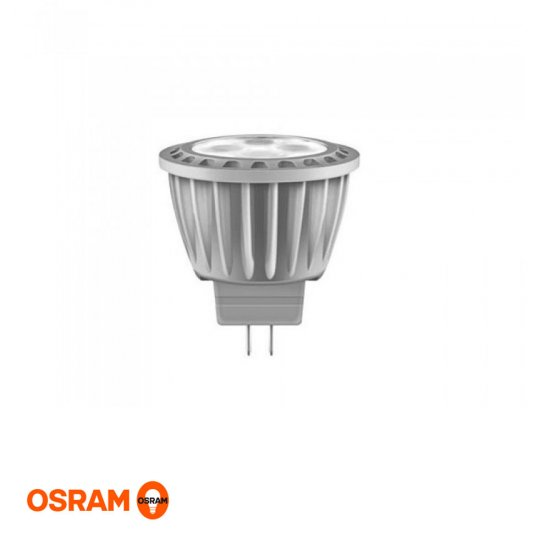 LED spotlight MR11 / GU4 på 3,7W, ej dimbar, 2700K, Osram