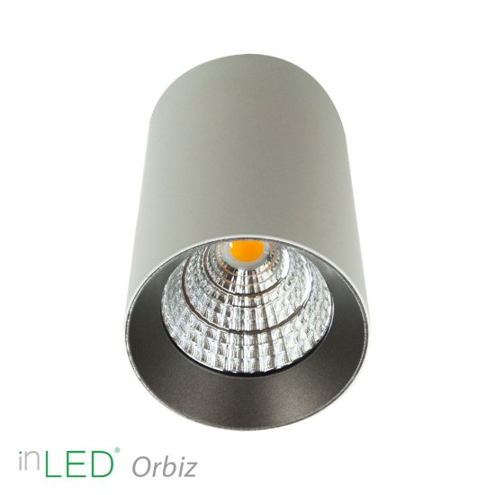 inLED Orbiz LED takspotlight 10W - Vit
