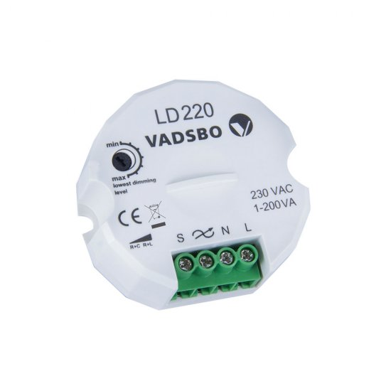 LED dimmer Vadsbo LD220 1-200W - 1377440