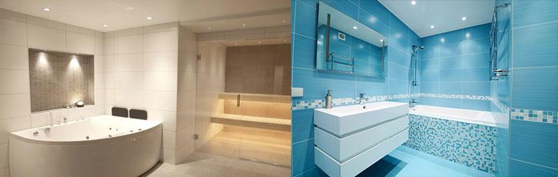 Välkända Rätt belysning ger rätt känsla i badrummet LH-81